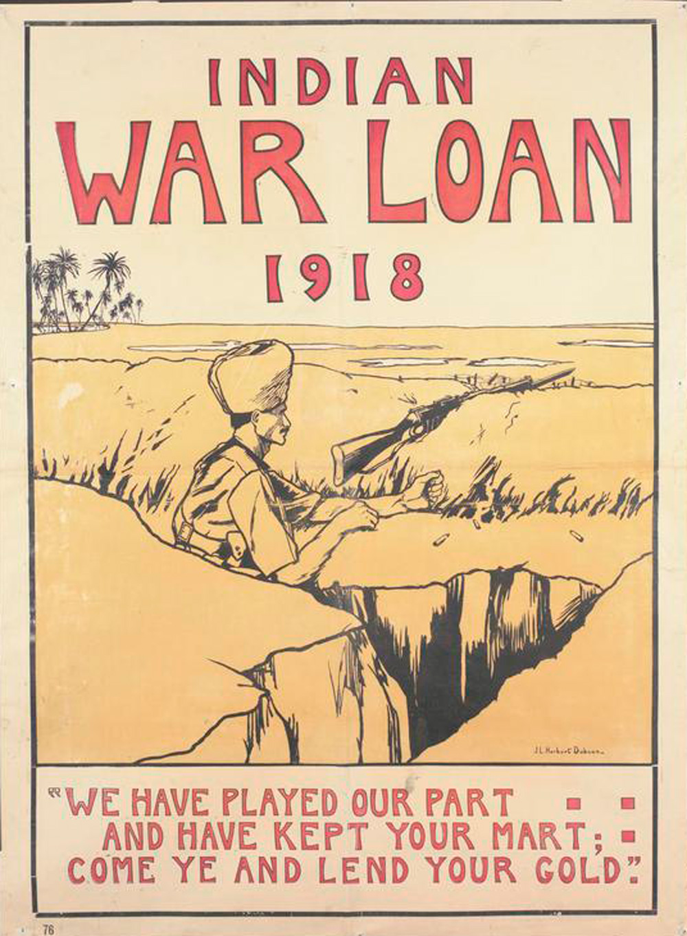 Werbeposter für Kriegsanleihen