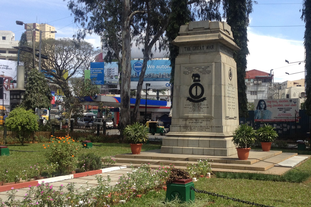 WWI Memorial in Bangalore, Brigade Street